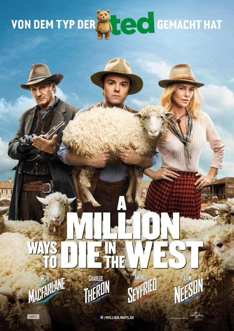 A Million Ways To Die In The West - Filmkritik