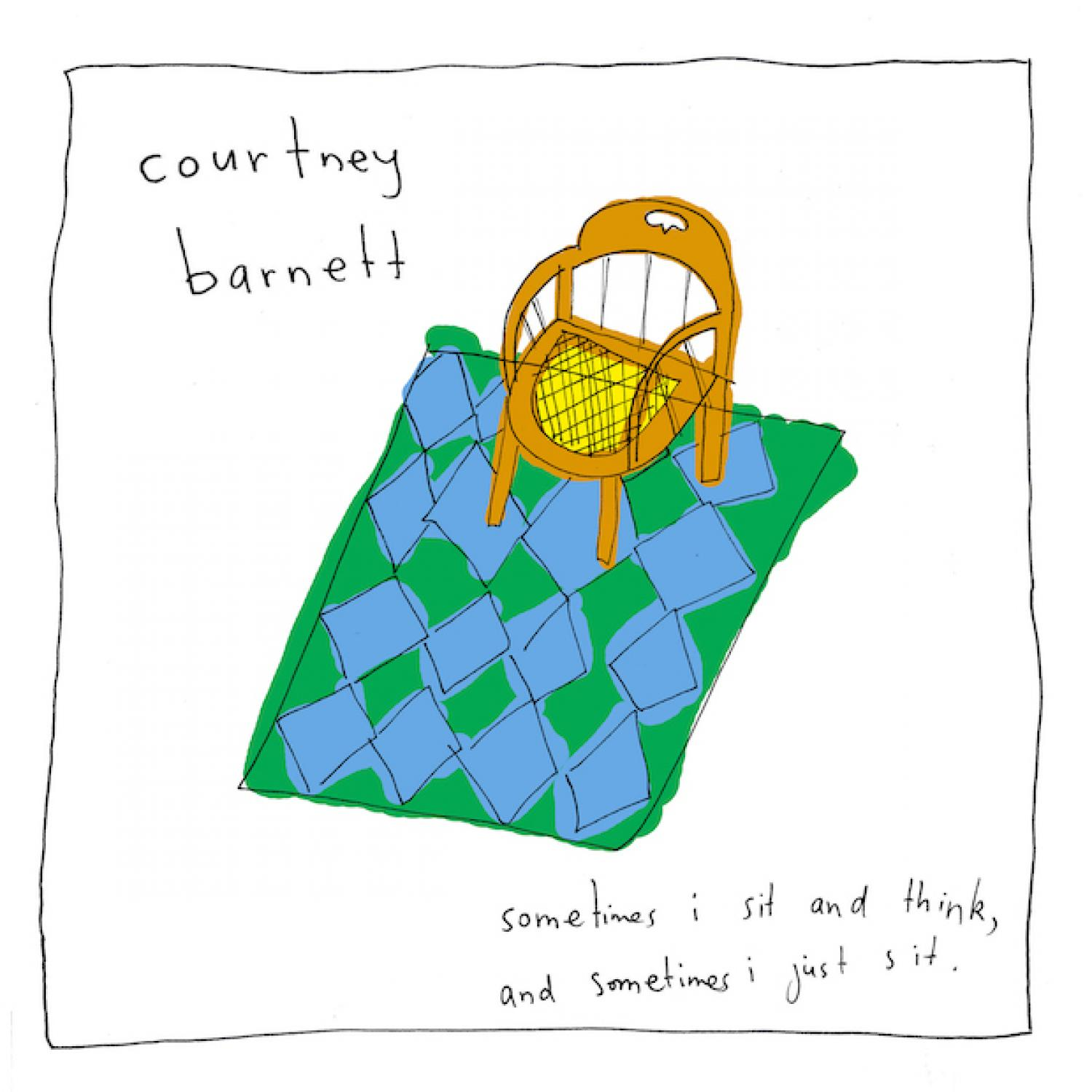 Courtney Barnett - Sometimes I Sit And Think, And Sometimes I Just Sit CD-Kritik