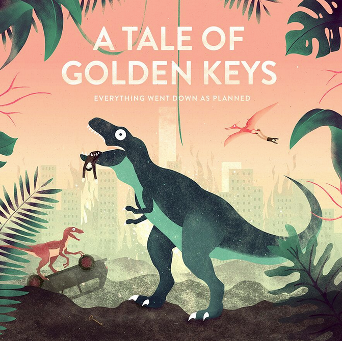 A Tale Of Golden Keys - Every Thing Went Down As Planned CD-Kritik
