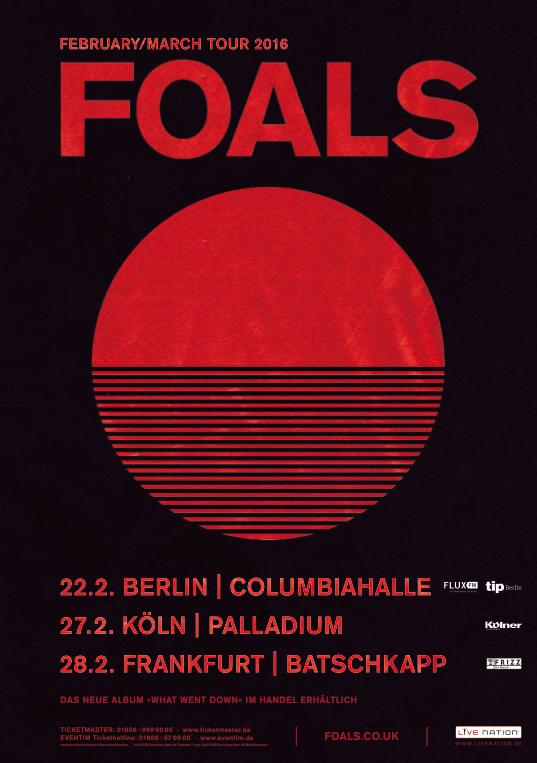 Foals - Tour!!!