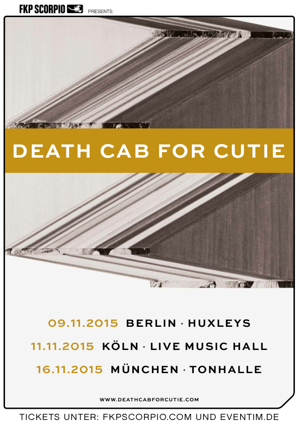 Death Cab For Cutie - Musikgeschichte