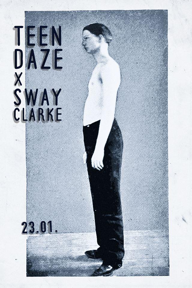 Wohnzimmerkonzert mit Teen Daze & Sway Clarke