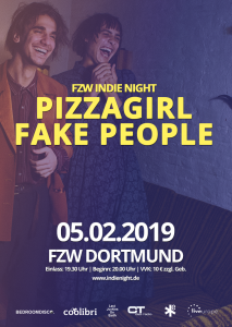 Poster web Pizzagirl fake People Dortmund