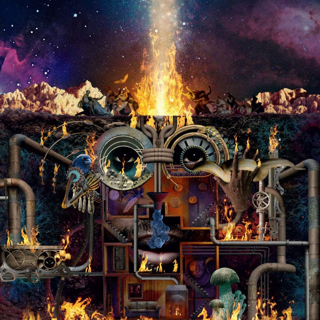 Flying Lotus Flamagra Cover