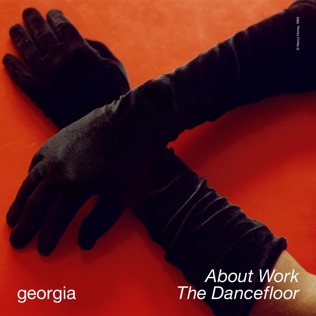 Georgia - About Work The Dancefloor - Single Artwork