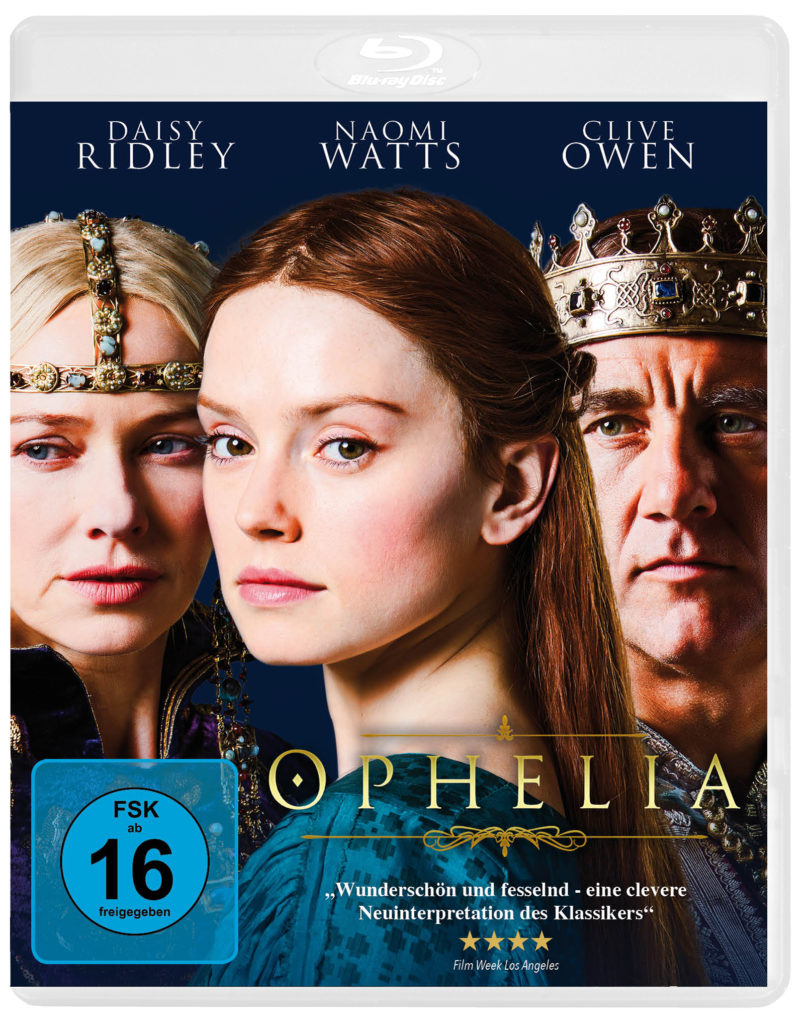 Ophelia - Blu-Ray Cover