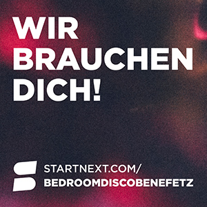 Startnext Bedroomdisco