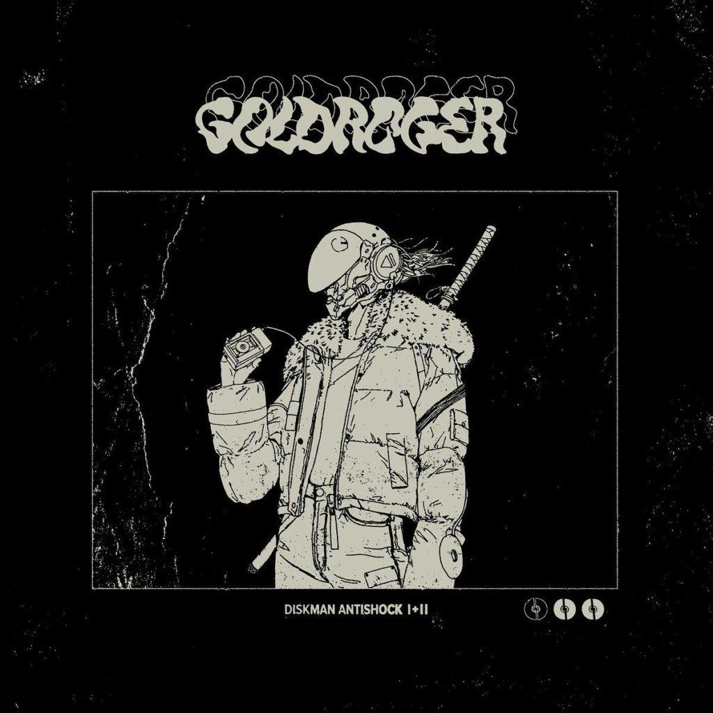 Goldroger - Diskman Antishock II Cover