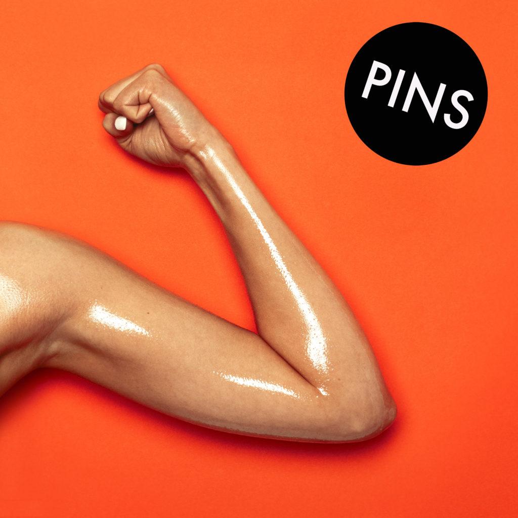 PINS - Hot Slick Cover
