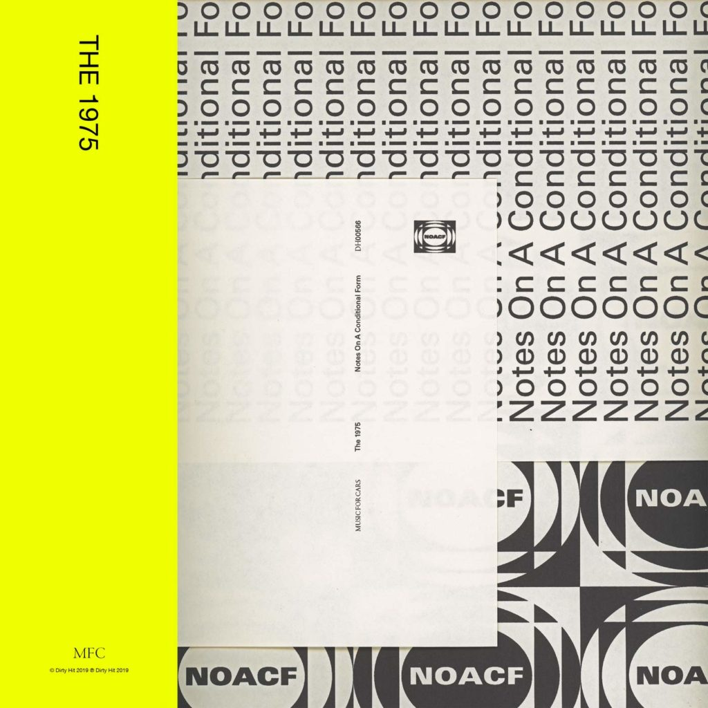 The 1975 Cover Artwork