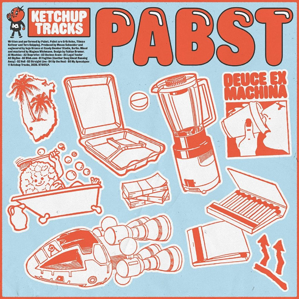 Pabst - Deuce Ex Machina Album Cover