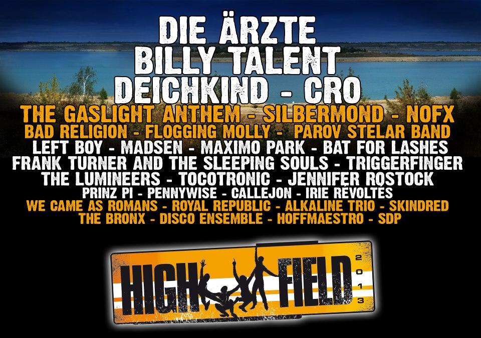 Highfield Festival - Gewinnspiel