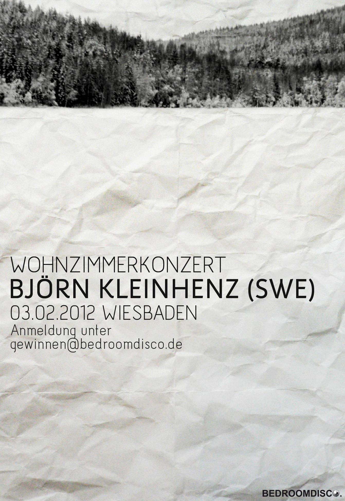 Wohnzimmerkonzert #5 - Björn Kleinhenz