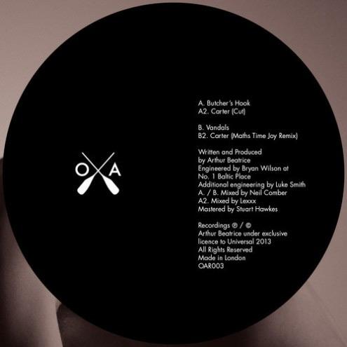 Arthur Beatrice - Carter EP CD-Kritik